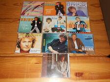 BERNHARD BRINK - 10 VERSCHIEDENE MAXI-CD'S SAMMLUNG: DU GEHST FORT.......