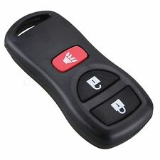 Replacement Blank Keyless Remote Key Fob Case Shell For Nissan Armada Xterra