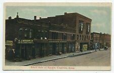 Ia ~ Farm Implements, Buggies, Undertaking Chariton Iowa c1909 Lucas Co Postcard