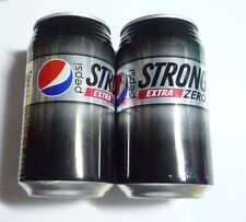 PEPSI STRONG Extra ZERO Cola can JAPAN 340ml Collect Asia  Pepsico Collect 2016