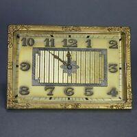 Rare Doxa Watch Company Swiss 8 Day Folding Travel Desk Clock Works