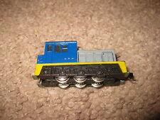 Bachmann N Scale Plymouth Diesel 0-6-0 Santa Fe Engine Blue Yellow Grey Black