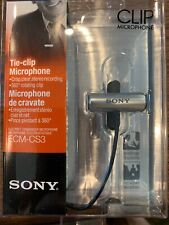 SONY ECM-CS3 Condenser Wired Professional 360 degree rotating Microphone