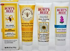 Burt's Bees  ~ Eye Cream ~ Baby Lotion ~ Cream Cleanser ~ Deep Cleansing Cream