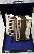 Hohner Verdi II, 34 T. 80 Bass, 2 Chörig, Akkordeon Ziehharmonika Orginal 1935