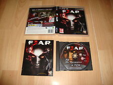 F3AR FEAR F.E.A.R. 3 SURVIVAL HORROR DE HAVOK PARA LA SONY PS3 USADO COMPLETO