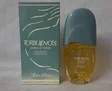 TURBULENCES REVILLON  parfum de toilette  50ml spray,  rare.