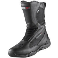 Held Joblin Waterproof OutDry Motorcycle Motorbike Leather Touring Boots - Black