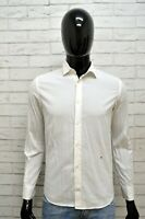 Camicia PEUTEREY Uomo Bianco Taglia Size XS Maglia Shirt Man Camicetta Maglia