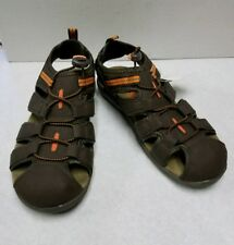 Athletech woman brown Terry sandals size 5
