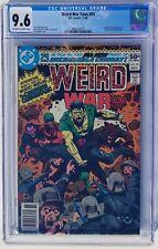 Weird War Tales #93 1st Creature Commandos DC 1980 CGC 9.6 OW-W