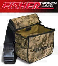 Fisher Labs Metal Detectors Canvas Camo Canvas Treasure Pouch with Belt