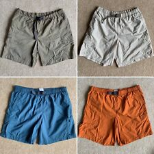 Lot Of 4 - Columbia Mens Size XL Packable Nylon Hiking Camp Cargo Shorts Belted