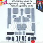DIY ROS-014 Upgrade Kit for Siege Galaxy Convoy Leader Class Ratchet\'s Operating