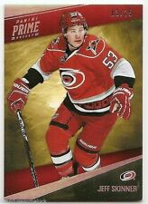 11/12 PANINI PRIME BASE SILVER PARALLEL #16 Jeff Skinner #3/25