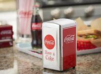 Coca Cola Napkin Dispenser Holder New in Box Vintage Style Metal Construction