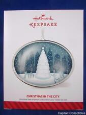 2014 Hallmark Keepsake Ornament Christmas in the City Metal QGO1596 NIB