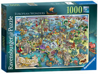 19717 Ravensburger European Wonders Jigsaw 1000pc Puzzle Adult Children 12+