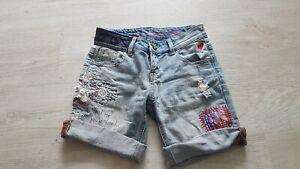Damen desigual  Jeans shorts XS W24 neu NP 89 Euro