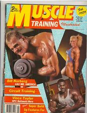 Muscle Training Bodybuilding Fitness Magazine BILL NORBERG 2-89