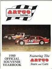 1980 ARTGO RACING Yearbook LATE MODEL Stock Car DICK TRICKLE Mark Martin NASCAR