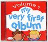 My Very First Album CD Vol 1. 30 kids songs, childrens, nursery rhymes, *NEW*