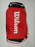 Wilson Multi-Color Tennis Racket Medium Sized Duffle Bag Used Good Outdoor Sport
