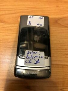 NOKIA MURAL 6750-1C ROGERS CHATR METAL METALLIC COLLECTION FLIP FLOP CELL PHONE