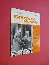 PLAYFAIR CRICKET MONTHLY. JUNE 1970. ILLUSTRATED MAGAZINE.