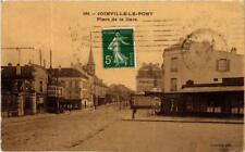 CPA JOINVILLE-le-PONT Place de la Gare (600305)
