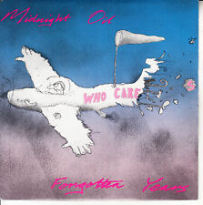 "MIDNIGHT OIL Forgotten Years PICTURE SLEEVE  7"" 45 record NEW + juke box strip"