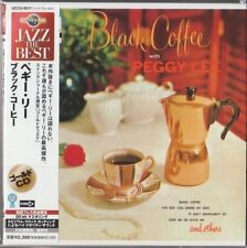 Peggy Lee ‎– Black Coffee With Peggy Lee (1956) JAPAN MINI LP 24K GOLD CD