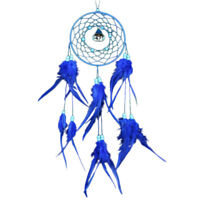 Large Feather Handmade Dream Catcher With Bell Car Wall Door Hanging Decoration