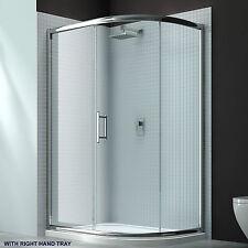Merlyn 6 Series Single Offset Quadrant Shower Enclosure Tray 1000mm X 800mm RH