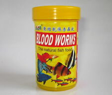 Blood Worms - Natural Fish Food - 6gm - High Protein - Fast Growth & Colour