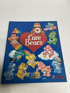 Care Bears Vintage Sticker Book Lot. Incomplete Panini  1984 Used