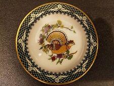 "Franklin Porcelain Miniature Plate 3"""