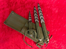 THROWING KNIFE Camo SET OF 3 Knives THROWER Camouflage SHARP BLADE