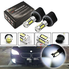 2PCS White 880 899 890 892 30-SMD Projector LED Car Fog Lights Replace Bulbs
