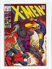 New listing X-Men #53 Silver Age Marvel Comics 1969 Fn-