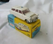 corgi toy,ford zephyr ,motorway patrol,police