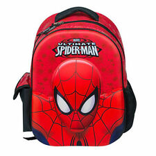 MARVEL SPIDERMAN BACKPACK SCHOOL RUCKSACK ULTIMATE 3D KIDS JUNIOR BAG