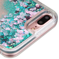 iPhone 7+/ 8+ Plus - LIQUID BLING QUICKSAND Floating Waterfall PC+TPU Case Cover