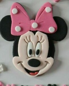 Minnie Mouse Kindergeburtstag Tortendeko Tortenaufleger Zuckerfigur Fondant