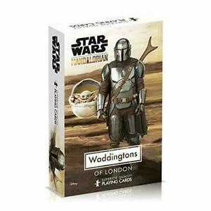 Waddingtons Star Wars The Mandalorian Number 1 Playing Cards Game