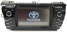 2014-2017 TOYOTA COROLLA  RADIO STEREO BLUETOOTH CD PLAYER 86140-02050 NEW SCREE