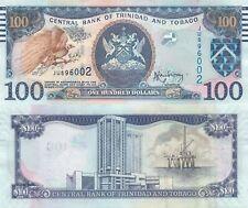 Trinidad and Tobago 100 Dollars (2006/2014) - Bird of Paradise/p51b UNC