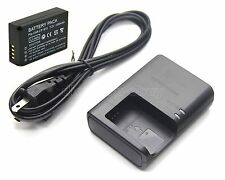 7.2v Battery + Charger for Canon EOS M EOS M2 EOS 100D EOS Rebel SL1 EOS Kiss X7