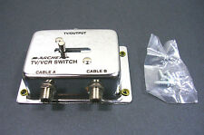VINTAGE Archer/Radio Shack Brand 75 OHM VCR/TV/FM Switch ~ NEW!