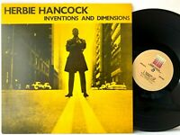 Herbie Hancock - Inventions and Dimensions - Applause APBL 2316 LP Vinyl Record